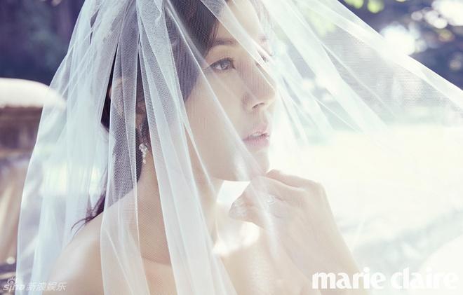 Kim Ha Neul ngot ngao trong vay cuoi hinh anh 1