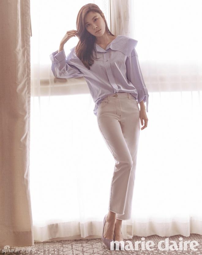 Kim Ha Neul ngot ngao trong vay cuoi hinh anh 4