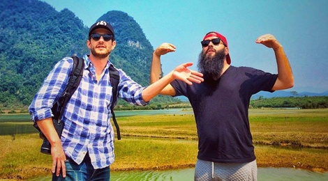 Sao 'Kong: Skull Island' khoe anh phong canh Quang Binh hinh anh