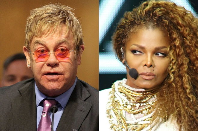 Elton John mia mai Janet Jackson hat nhep hinh anh 1