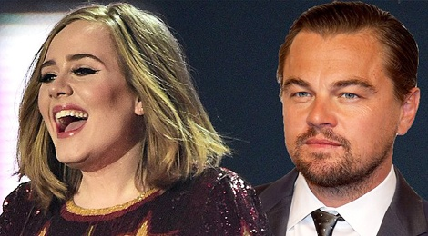 Adele chuc Leonardo DiCaprio doat Oscar hinh anh