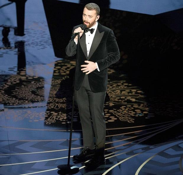 Sam Smith xin loi vi phat ngon nham lan o Oscar hinh anh 1