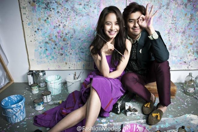 Song Ji Hyo ngot ngao ben Tran Ba Lam tren tap chi hinh anh 6
