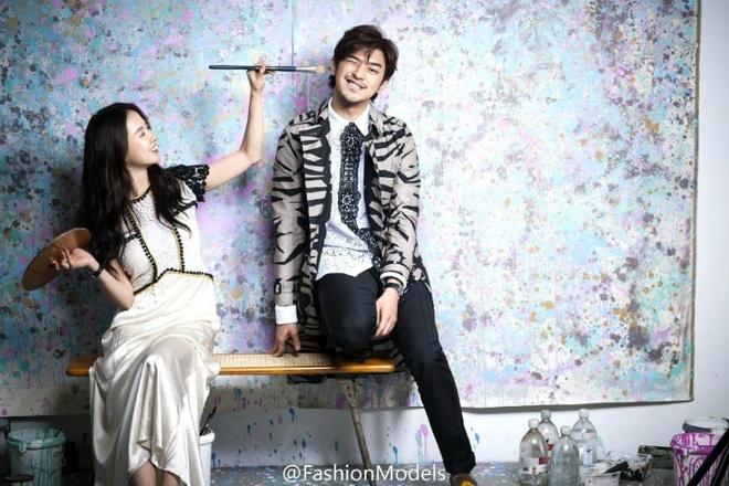 Song Ji Hyo ngot ngao ben Tran Ba Lam tren tap chi hinh anh 8