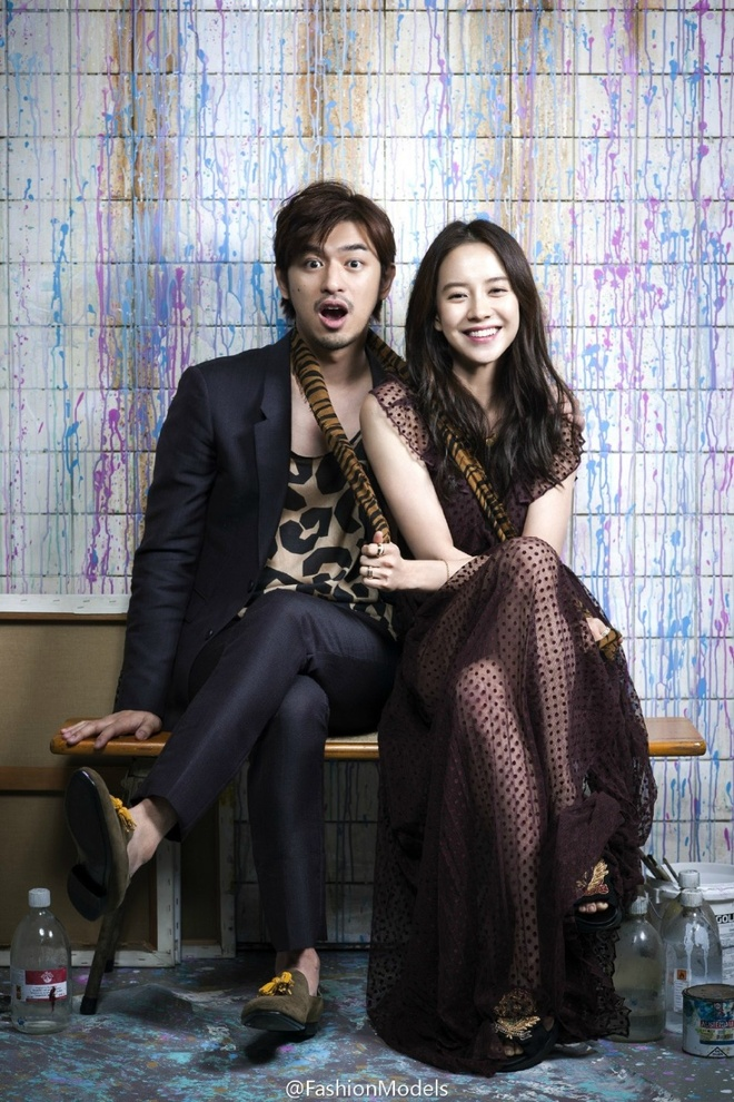 Song Ji Hyo ngot ngao ben Tran Ba Lam tren tap chi hinh anh 9