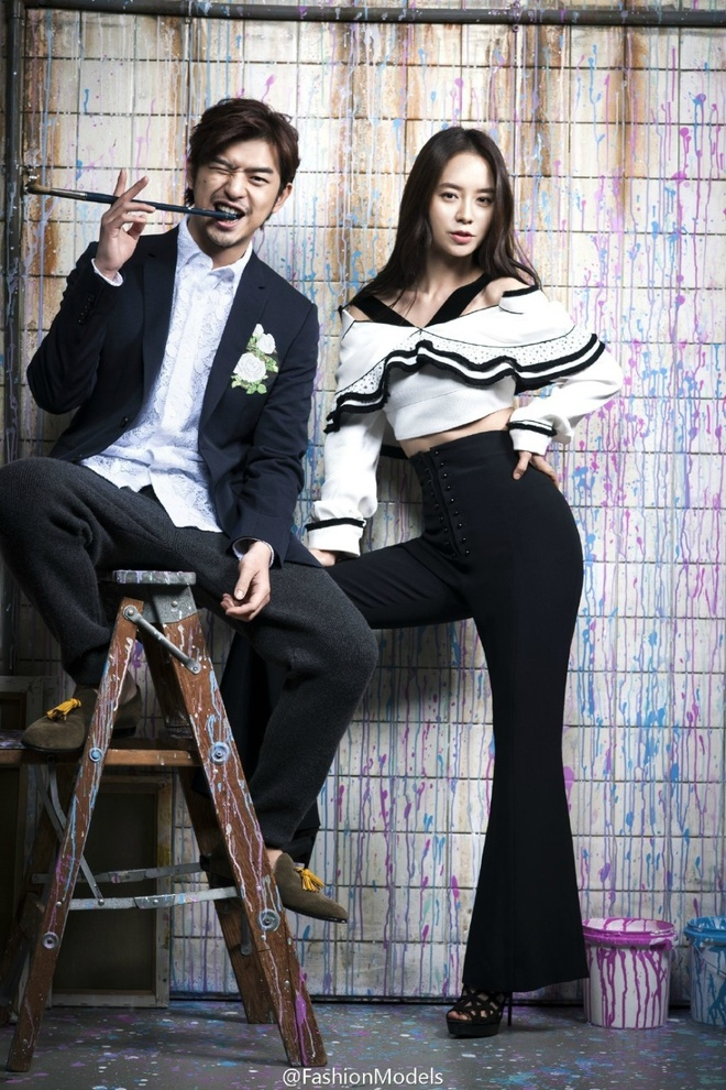 Song Ji Hyo ngot ngao ben Tran Ba Lam tren tap chi hinh anh 2