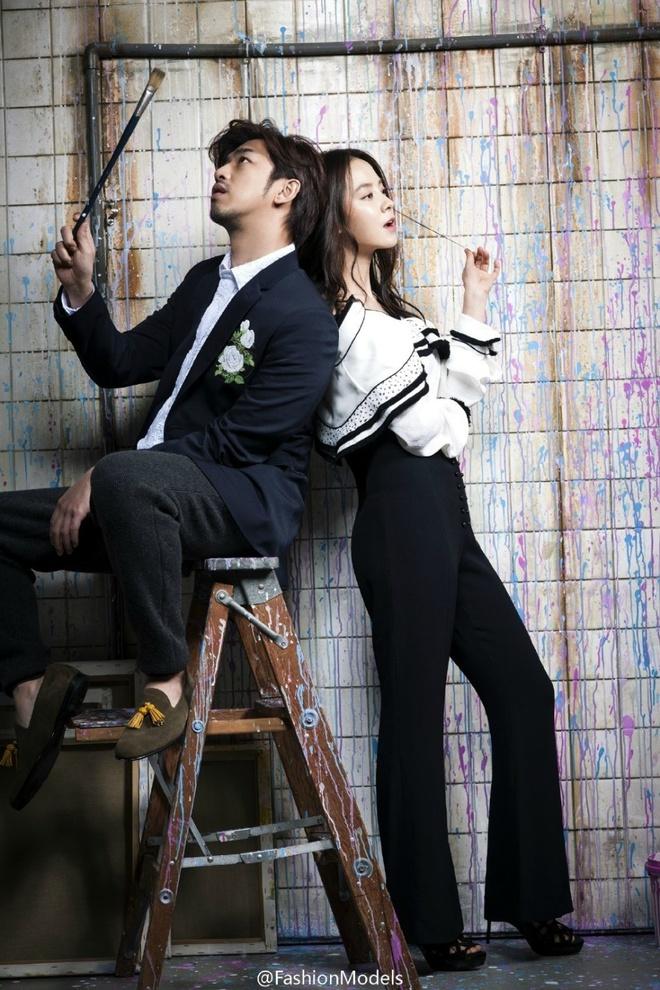 Song Ji Hyo ngot ngao ben Tran Ba Lam tren tap chi hinh anh 3