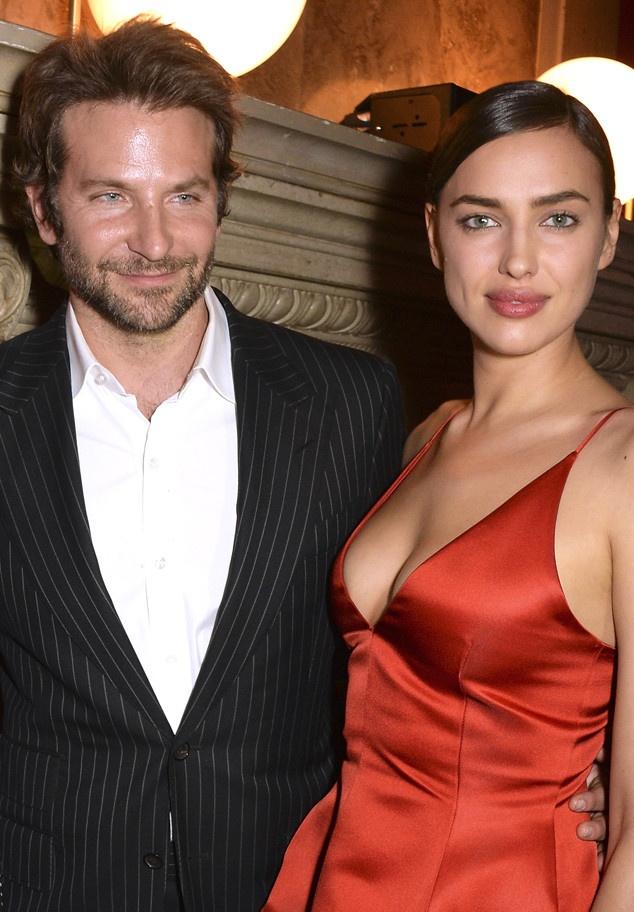 Bradley Cooper lan dau dua Irina Shayk du su kien hinh anh 1