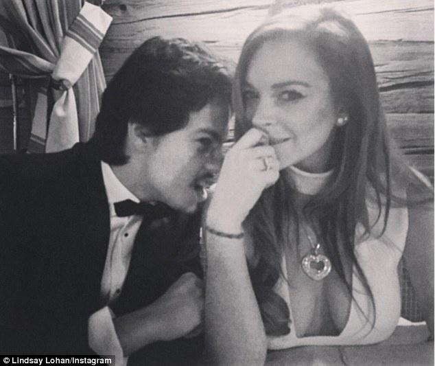 Lindsay Lohan hen ho thieu gia nguoi Nga hinh anh 1