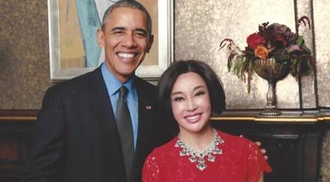 Luu Hieu Khanh thay vinh du khi duoc Barack Obama tiep don hinh anh