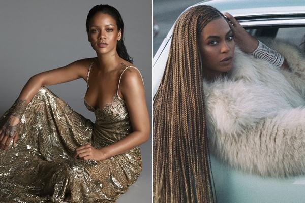 Rihanna phu nhan canh tranh voi Beyonce hinh anh 2