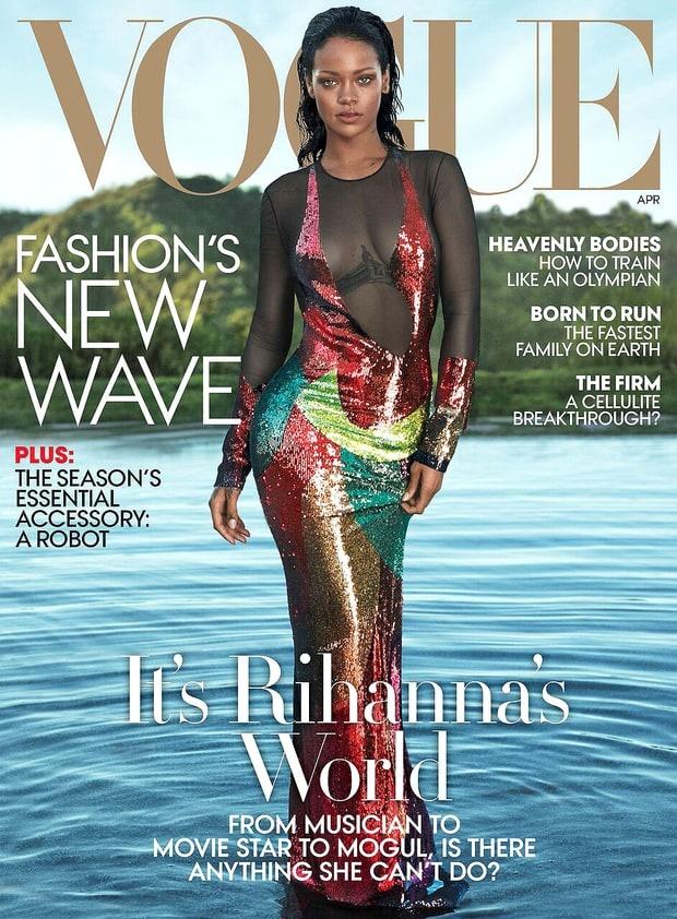 Rihanna phu nhan canh tranh voi Beyonce hinh anh 1