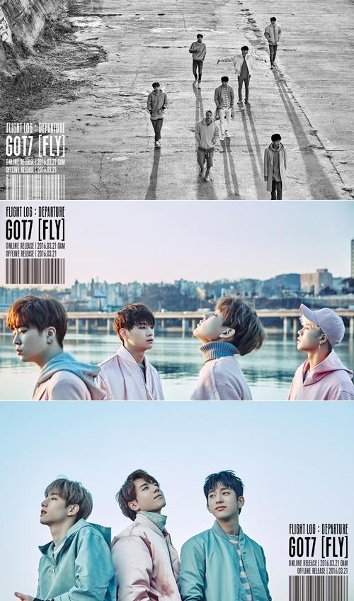 GOT7,  Kpop,  MV moi,  luot xem,  bang xep hang anh 2