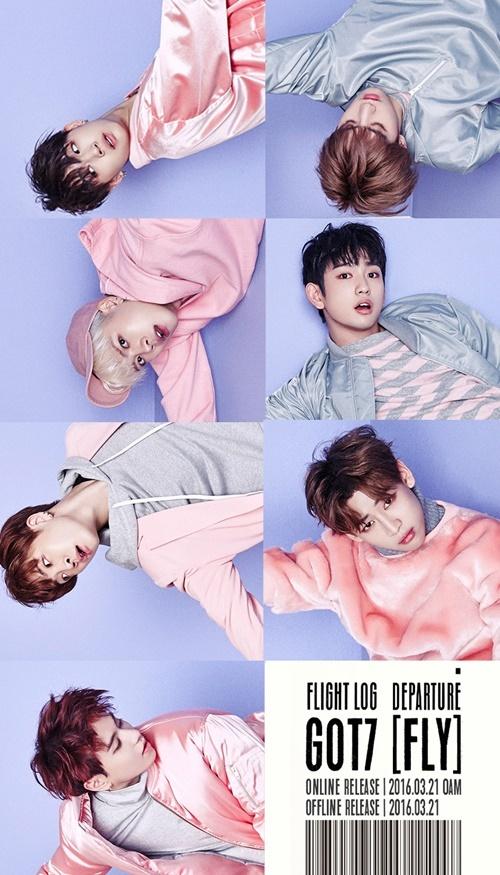 GOT7,  Kpop,  MV moi,  luot xem,  bang xep hang anh 1
