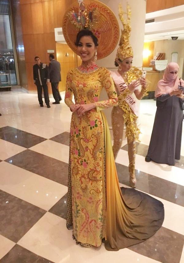 Nguoi dep Viet Nam lot top 3 Trang phuc dan toc Miss Eco hinh anh 5