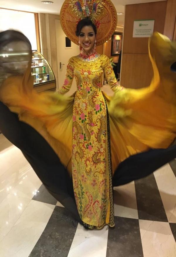 Nguoi dep Viet Nam lot top 3 Trang phuc dan toc Miss Eco hinh anh 6