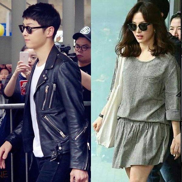 Song Joong Ki - Song Hye Kyo duoc ham mo khi den Hong Kong hinh anh 1