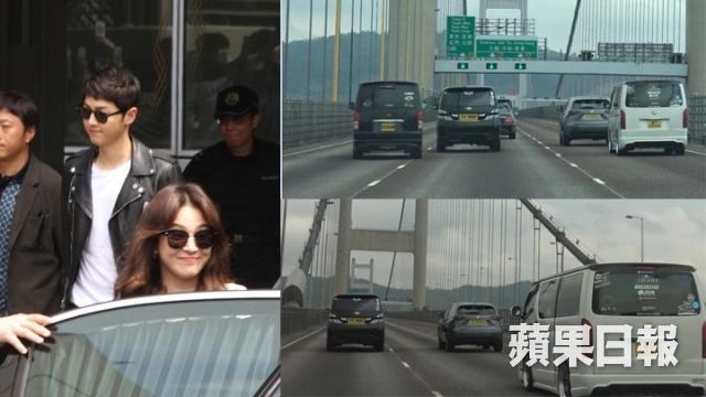 Song Joong Ki - Song Hye Kyo duoc ham mo khi den Hong Kong hinh anh 3