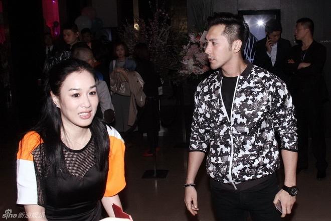 Chuong Tu Di moi dan sao VIP trong tiec ra mat con gai hinh anh 10