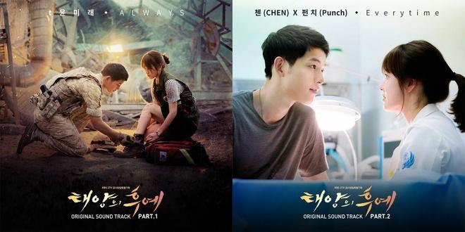 Vpop soi dong cover nhac phim Han sau 'Hau due mat troi' hinh anh 1