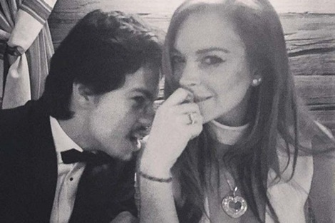 Lindsay Lohan up mo tin don dinh hon hinh anh 3