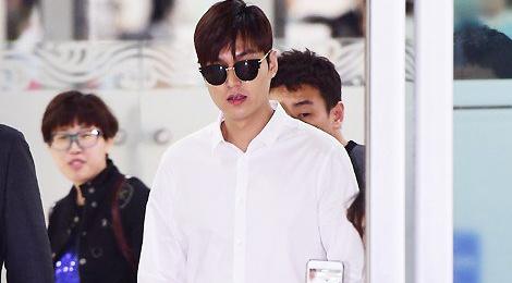 Lee Min Ho va sao 'Hau due mat troi' do thoi trang san bay hinh anh