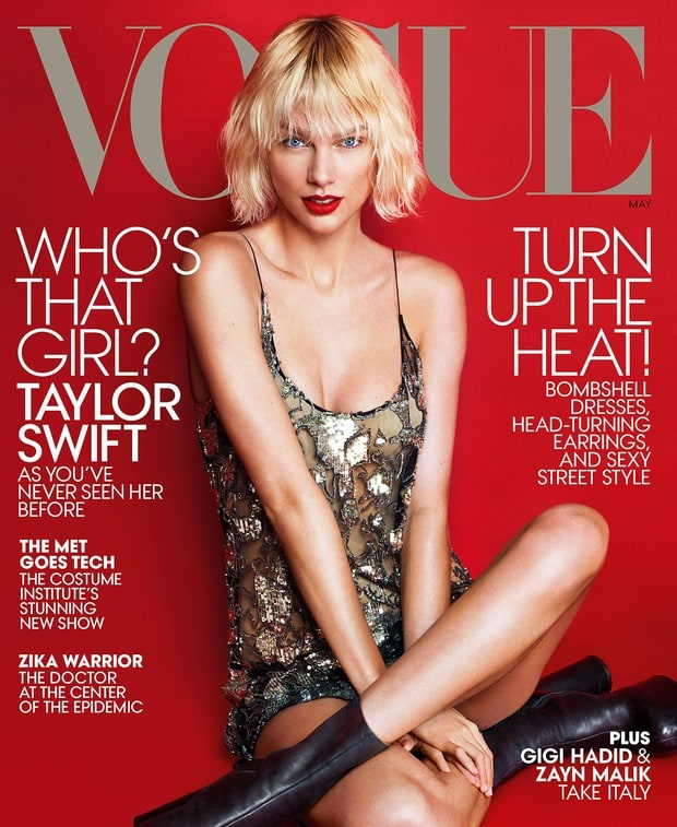 Taylor Swift ca tinh tren tap chi Vogue hinh anh 1