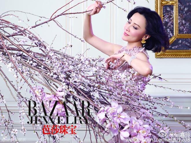 Nhan sac khong tuoi cua Luu Gia Linh hinh anh 4