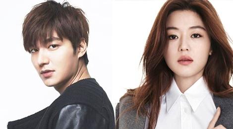 Lee Min Ho va Jun Ji Hyun bi don dong phim chung hinh anh