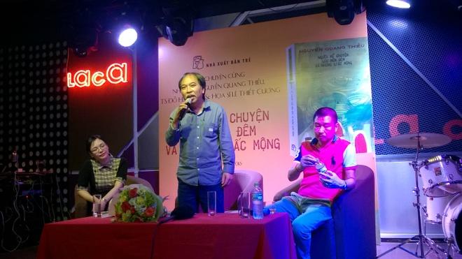 Nguyen Quang Thieu ke chuyen ve nhung giac mong hinh anh 1
