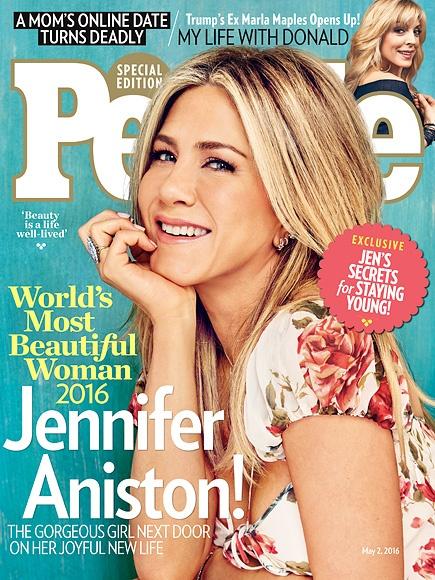 Jennifer Aniston la nguoi phu nu dep nhat the gioi 2016 hinh anh 1
