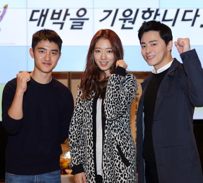 Park Shin Hye dong phim moi vi D.O (EXO) hinh anh 1