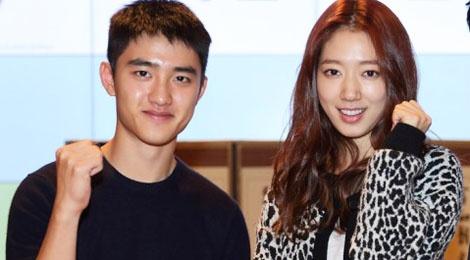 Park Shin Hye dong phim moi vi D.O (EXO) hinh anh