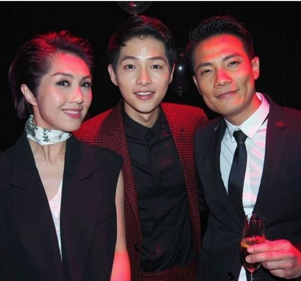 Song Joong Ki o Hong Kong: Fan cuong, dong nghiep kho chiu hinh anh 4