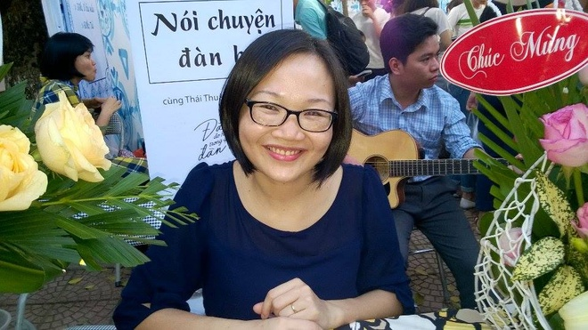 Thai Thuan Minh: 'Muon hanh phuc dung le thuoc vao dan ong' hinh anh