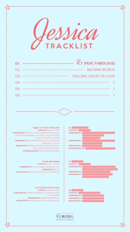 Jessica Jung tung album solo anh 1