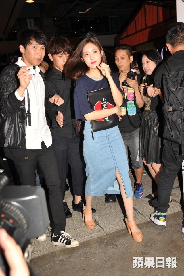 Hyomin (T-ara) gap su co tai su kien o Hong Kong hinh anh 1