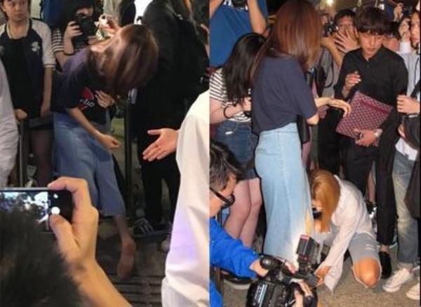 Hyomin (T-ara) gap su co tai su kien o Hong Kong hinh anh 2