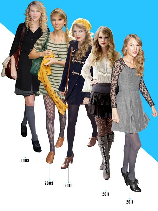 Taylor Swift doi giay nhu the nao trong 10 nam qua? hinh anh 2