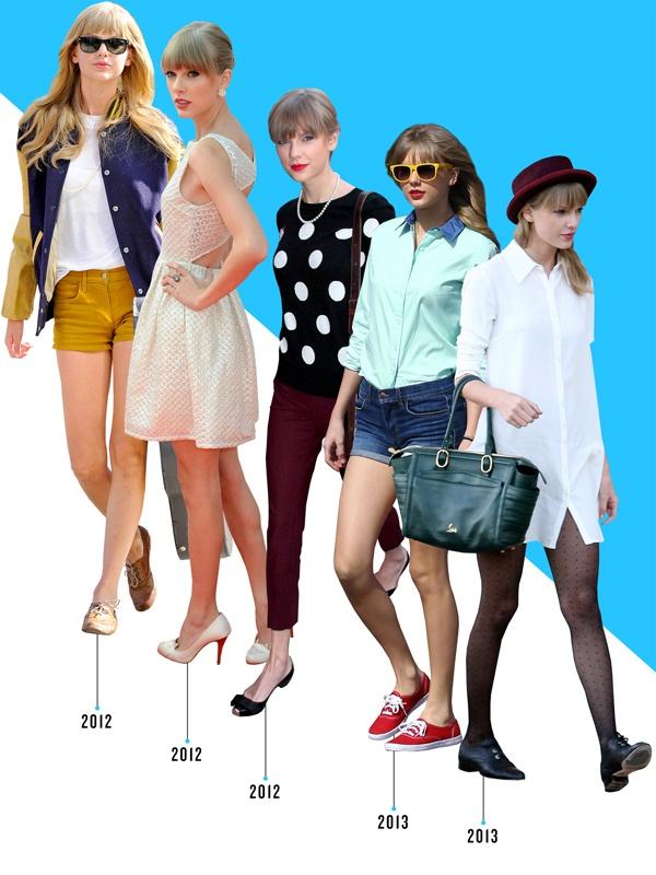 Taylor Swift doi giay nhu the nao trong 10 nam qua? hinh anh 3