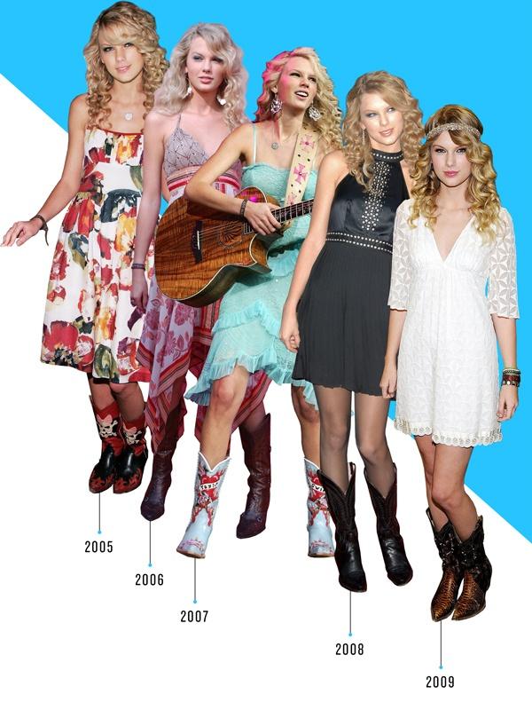 Taylor Swift doi giay nhu the nao trong 10 nam qua? hinh anh 1