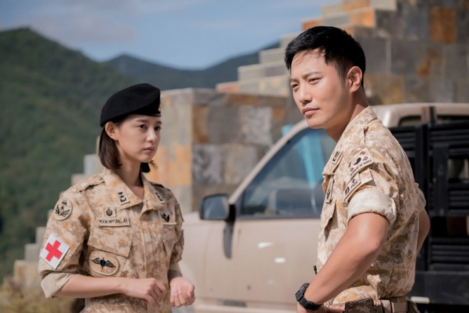 'Thuong si' Jin Goo san sang dong tiep 'Hau due mat troi' hinh anh 2