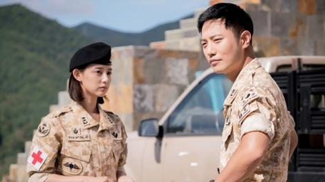 'Thuong si' Jin Goo san sang dong tiep 'Hau due mat troi' hinh anh