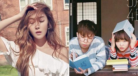 Jessica, AOA, Akdong Musician do suc nong thang 5 hinh anh