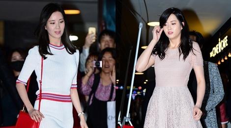 Seohyun (SNSD) thanh lich, Go Ara tang can hinh anh