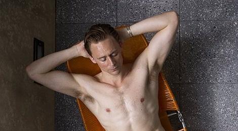 'Loki' Tom Hiddleston khong ngai canh nong hinh anh