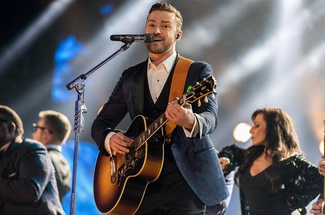 Justin Timberlake tre hoa voi ca khuc moi,  Justin Timberlake tung ca khuc moi anh 1