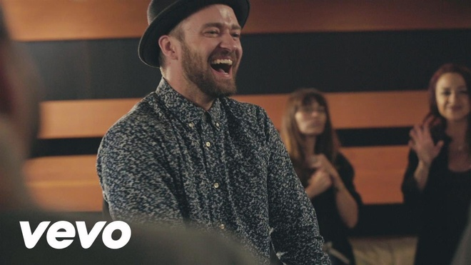 Justin Timberlake tre trung bat ngo trong ca khuc moi hinh anh