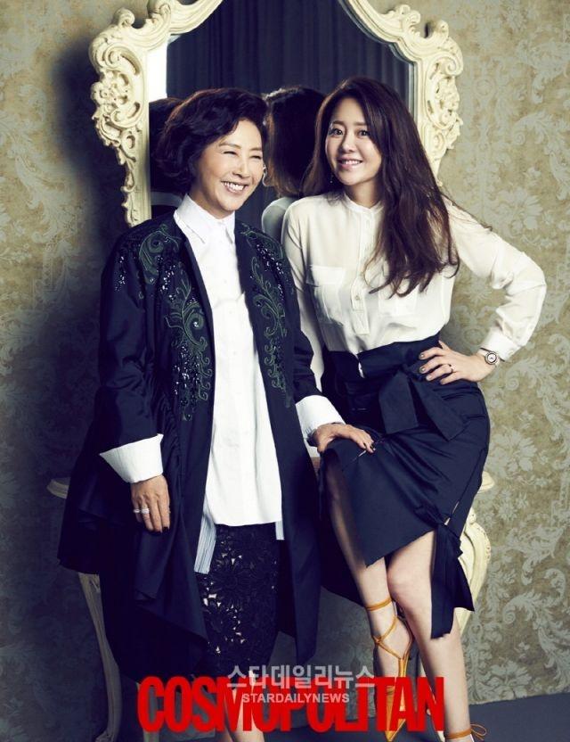 'Ac nu' Go Hyun Jung sanh dieu tren tap chi hinh anh 5