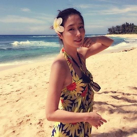 Loat my nhan Han khoe dang bikini ngay he hinh anh 6